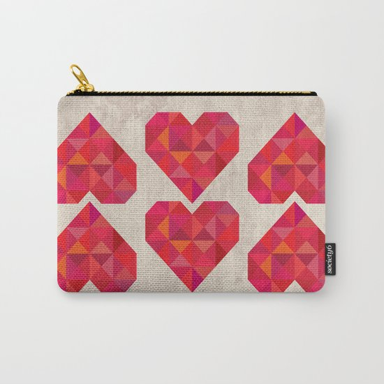 Heart geometry Carry-All Pouch