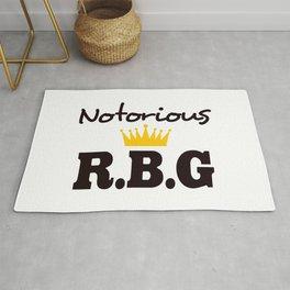 Notorious R.B.G Ruth Bader Ginsburg Rug