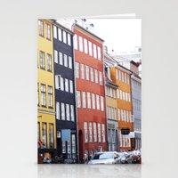 copenhagen Stationery Cards featuring Copenhagen by Anya Kubilus