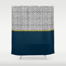 okomito v.2 Shower Curtain