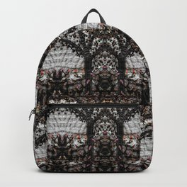 Lace in black Backpack