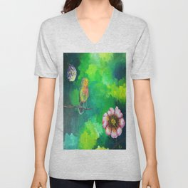 Birdy Dreams Unisex V-Neck