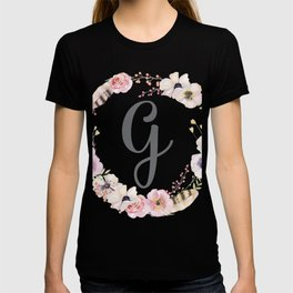 Floral Wreath - G T-shirt