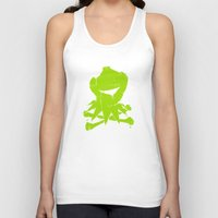 kermit Tank Tops featuring Pochoir - Kermit by Krikoui