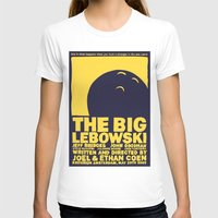 big lebowski T-shirts featuring The Big Lebowski by Chá de Polpa