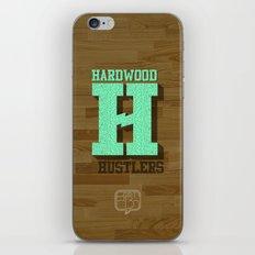 Hardwood Hustlers iPhone & iPod Skin