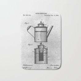 Coffee percolator Bath Mat