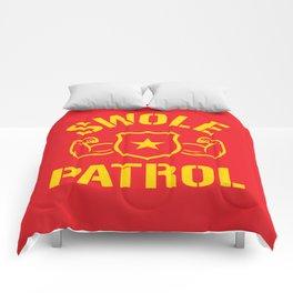 Swole Patrol Comforters