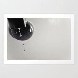 Bathroom Facet & Water Art Print