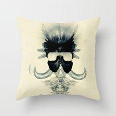A black angel from Aksoum Throw Pillow