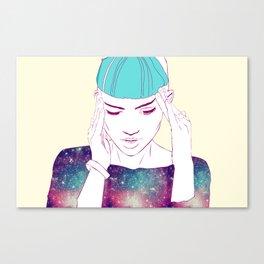 GRIMES Canvas Print