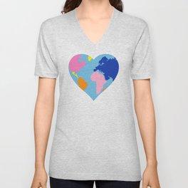 Love your World Unisex V-Neck