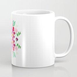 Floral Tile Coffee Mug