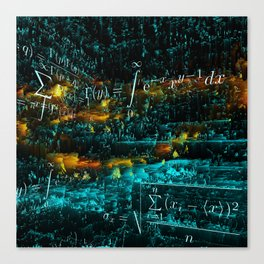 mathematical art Canvas Print