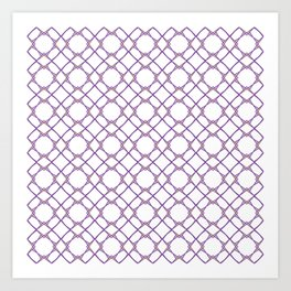 Graphic Art Pattern-P1-C3 Art Print