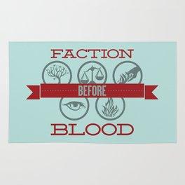 Faction Before Blood Rug