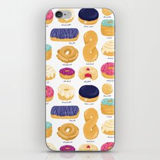 Donut Identification iPhone & iPod Skin