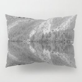 Silver Landscape At Lake Bohinj Pillow Sham