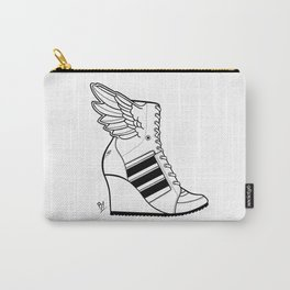 ADIDAS WINGED WEDGE SNEAKER BOOTIE Carry-All Pouch