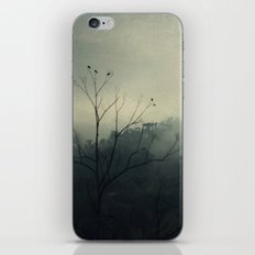 moody fog mountain iPhone & iPod Skin