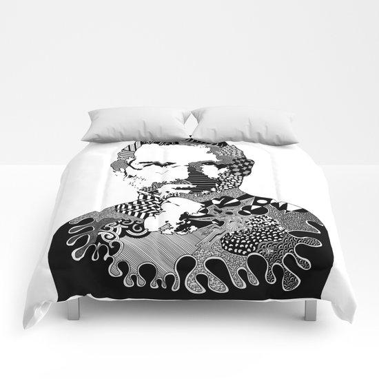 Steve Jobs Doodle Comforters