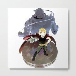 Fullmetal Alchemist - Alphonse & Edward Metal Print