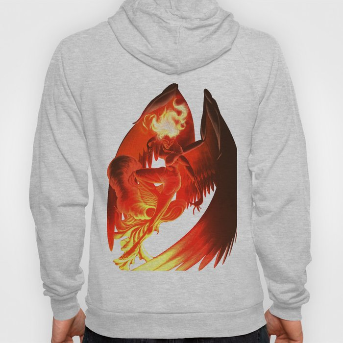 Lumania Bound Conflagration, The Amber Angel Hoody