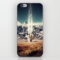 gravity iPhone & iPod Skins featuring Gravity by James McKenzie