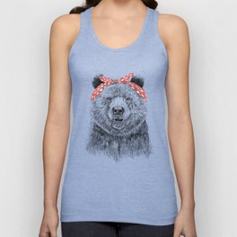 Break the rules (without text) Unisex Tank Top