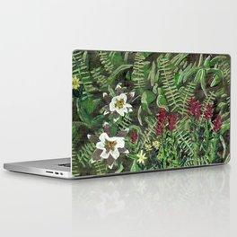 Woodland Flowers Laptop & iPad Skin