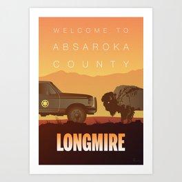 Longmire: Standoff Art Print