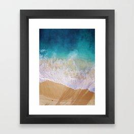 Sea love Framed Art Print