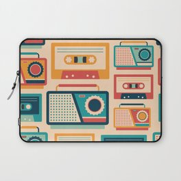 Audio Cassettes and Radios Laptop Sleeve