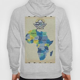 Map Of Africa Hoody