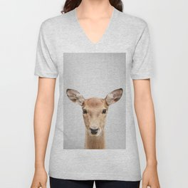 Doe 2 - Colorful Unisex V-Neck