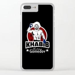 Khabib Clear iPhone Case