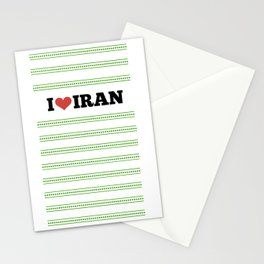 I Love Iran Stationery Cards