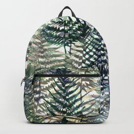 Watercolour Ferns Backpack