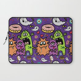 Greedy Monsters Laptop Sleeve