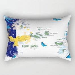 Azores islands art Rectangular Pillow