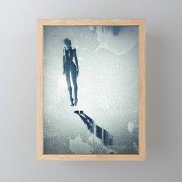 Float: Surreal digital art Framed Mini Art Print