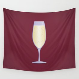 Champagne Wall Tapestry
