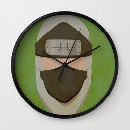 Kakuzu Simplistic Face Wall Clock