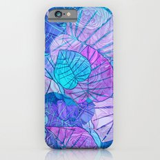 Leaves in Rosy Background Slim Case iPhone 6s