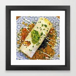 Burrito Framed Art Print