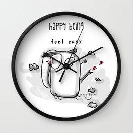 Feel Easy Wall Clock