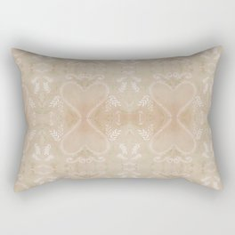 leaf print Rectangular Pillow