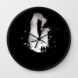 death hallow Wall Clock
