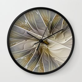 Precious, Fractal Art Wall Clock