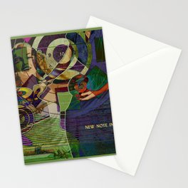 Newest Note in Music Stationery Cards